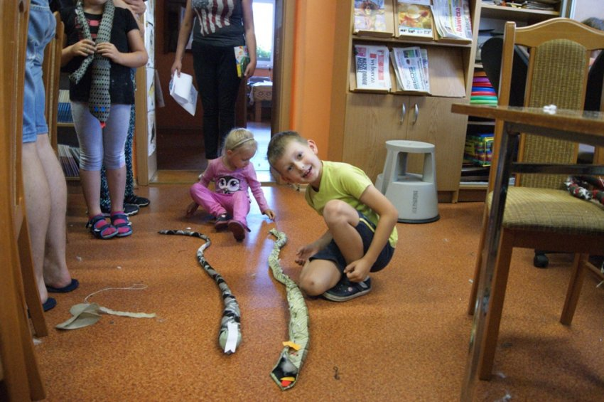 Krawatowe węże