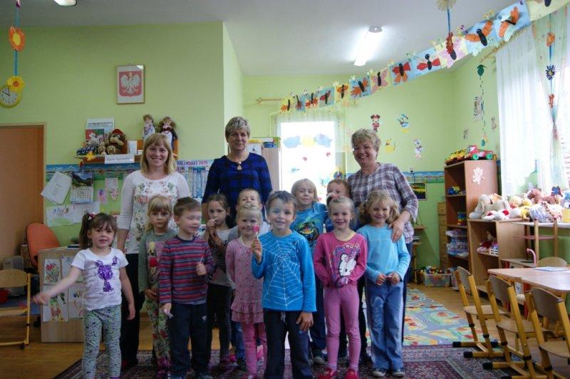 Z wizytą w Przedszkolu w Zaborowicach
