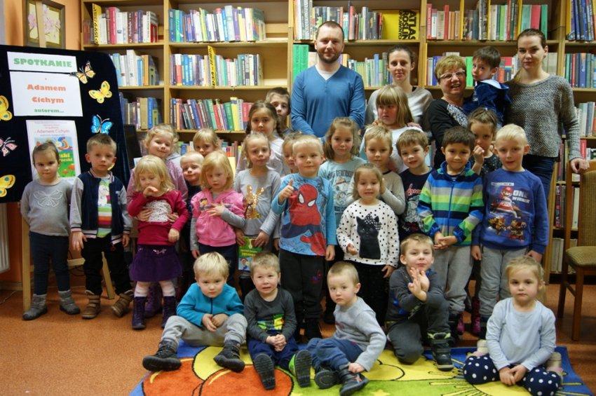 Spotkanie z Adamem Cichym z Bojanowa, autorem książeczki ˝Robaczki znaszej paczki˝